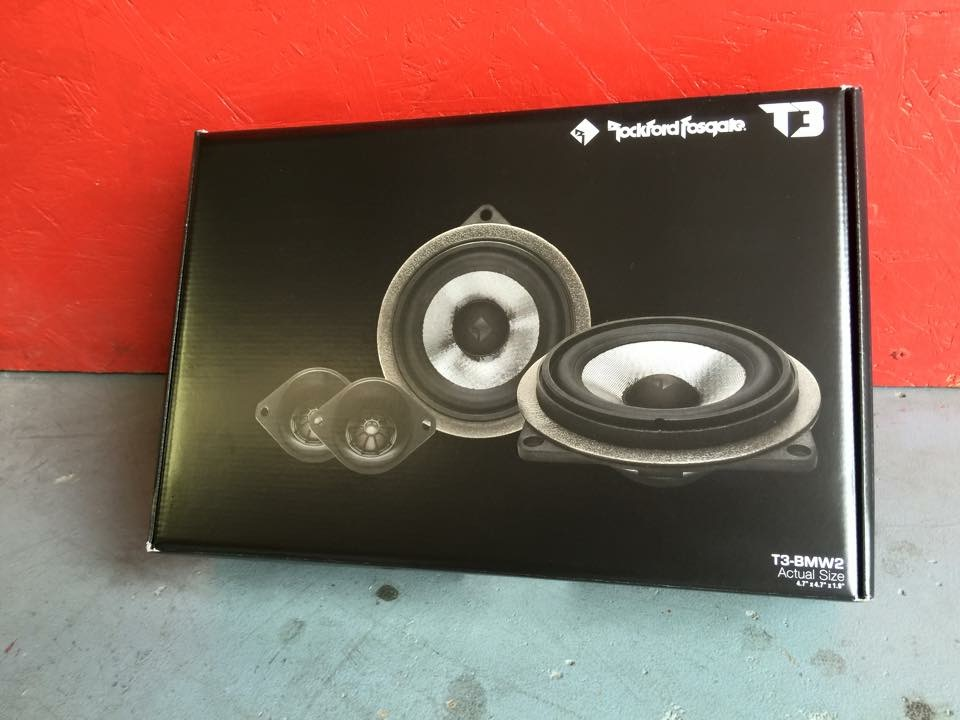 Rockford Fosgate T3 Bmw2 Install 2 Way Component System