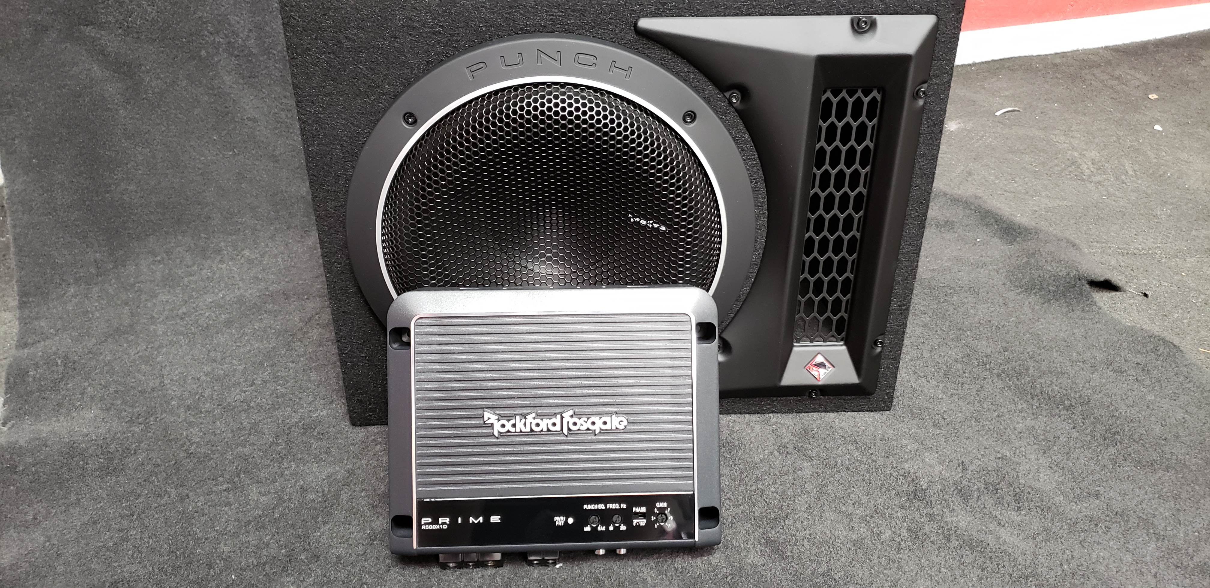 Bass Package - Rockford Fosgate - Next Gen Audio Video